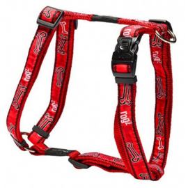 ROGZ JELLY TUIGJE RED ROGZ BONE S - 11MM  23-37 cm