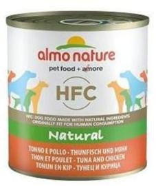 Almo Nature Dog Tuna +Chicken 12 x 290 gr
