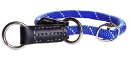 ROGZ ROPE OBEDIENCE BLUE MEDIUM - 35-40 CM / 9 MM.
