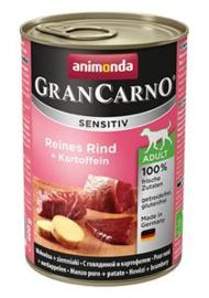 Grancarno Sens.Pure Beef+Potatoes 6 x 400 gr