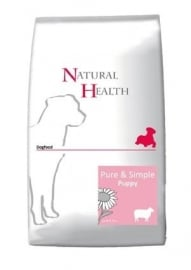 Natural Health hondenvoer Puppy Lam 12,5 kg