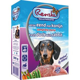 Renske Vers Eend & Konijn & Rijst 10 x 395 gr