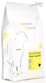 Natural Health Dog Chicken & Rice Puppy Large bite 2.5 kg