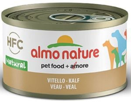 Almo Nature Dog HFC Natural Kalfsvlees 24 x 95 gr