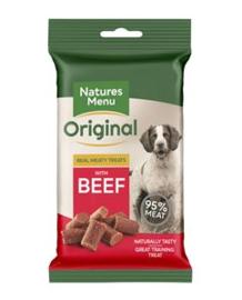 NATURES MENU DOG TREATS  BEEF- 60 GR. per stuk