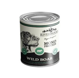 Riverwood natvoer Wildzwijn mono proteïne 6 x 400 gr