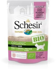 Schesir Dog Bio Pork 16 x 85 gr
