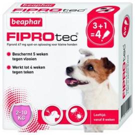 Beaphar FiproTec Dog 2-10 kg 3+1