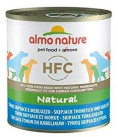 Almo Nature Dog Tuna Skipjack 12 x 290 gr