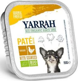 Yarrah Hond Alu Pate Kip/Zeewier 12 x 150 gr
