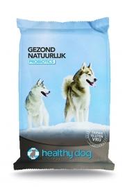 Healthy dog Dubbelpak 2x 15kg Probiotics  NU: inclusief Biofood Rol snack!