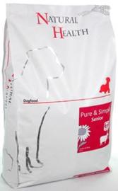 Natural Health Dog Lam & Rice Senior 7,5 kg