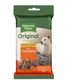 NATURES MENU DOG TREATS CHICKEN - 60 GR. per stuk