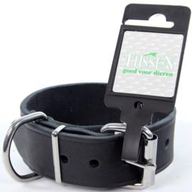 Halsband Vetleer Zwart 35mm x 45cm