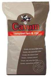 CAVOM - COMPLEET 20KG LAM & RIJST ADULT
