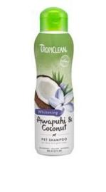 TropiClean Awapuhi & Coconut Shampoo 355 ml Speciaal voor de witte vacht.