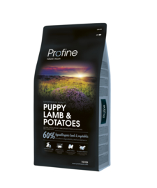 Profine Puppy Lamb & Potatoes 15 kg  Nu inclusief: Profine Grain Free snack Lamb