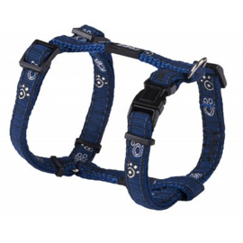 ROGZ JELLY TUIGJE NAVY PAW - 11MM  23-37 cm