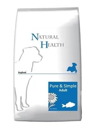 Natural Health hondenvoer Adult Vis 12,5 kg 2x 12,5 kg  Nu: inclusief Farm Food Trainers!