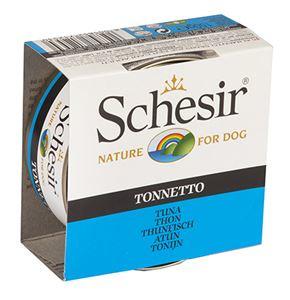 Schesir Dog Jelly Tuna 10 x 150 gr