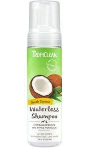 TropiClean HypoAllergic Droogshampoo 220 ml hond en kat gevoelige huid