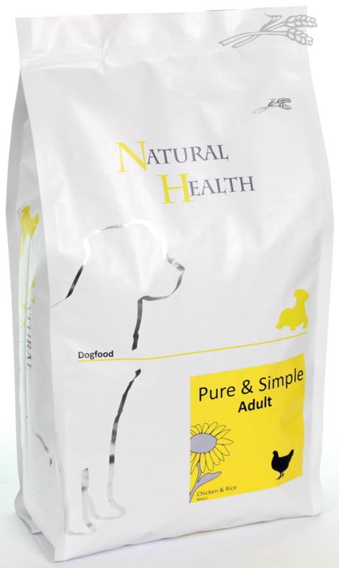 Natural Health Dog Chicken&Rice Adult 2 kg
