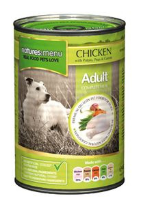 Natures Menu Dog Blik Chicken 12 x 400 gr