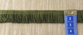 Franje groen 2 cm