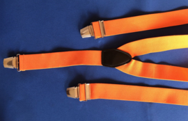 Bretels 3 poots oranje