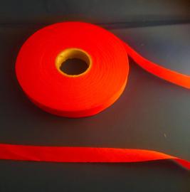 Biasband ongevouwen 2 cm rood