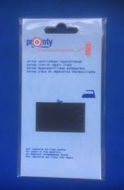 Pronty Jersey reparatiedoek zwart 090