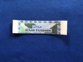 Applicatie jeans fashion