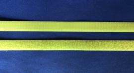 Klittenband 2 cm breed lime groen