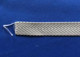 Nylon band grijs 20 mm