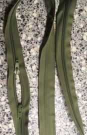 YKK tassen rits head to head 110 cm mos groen