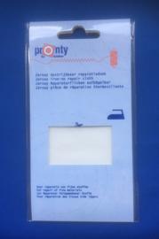 Pronty Jersey reparatiedoek off white 000