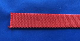 Nylonband rood 20 mm