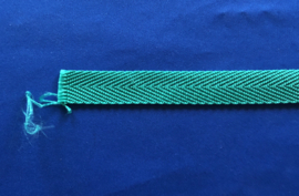 Nylon band groen 20 mm