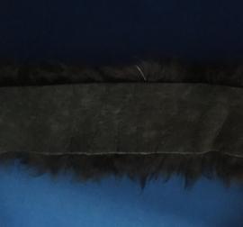 Bont 6 cm breed donker bruin