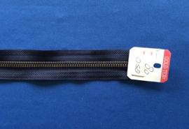 Deelrits brons 80 cm donker blauw