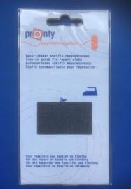 Pronty reparatiedoek zwart spijkerstof