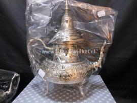 Marokkaanse theepot met pootjes   1.6 Liter