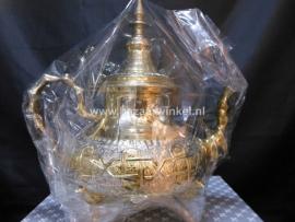 Marokkaanse theepot  goud m2 1.95 Liter