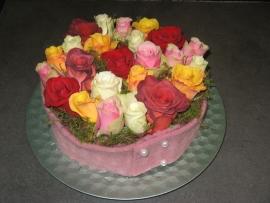 Bloementaart rozen vanaf € 15,-