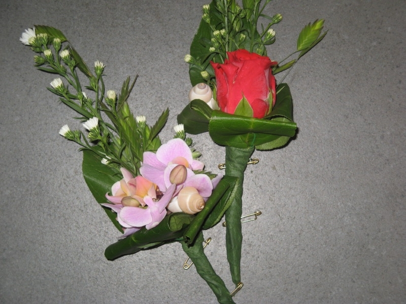 Corsage Orchidee/Roos € 3,00
