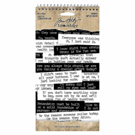 Tim Holtz Ideaology BIG Talk Snarky