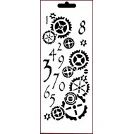 Counting Cogs stencil Imagination Crafts