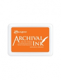 Archival Monarch Orange