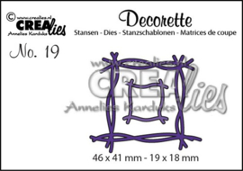 CreLi - Decorette 19 Twijgen