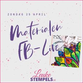 Live zondag 25 April 2021